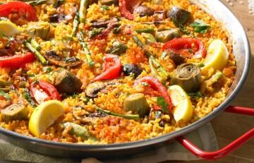 Spanish Homemade Paella
